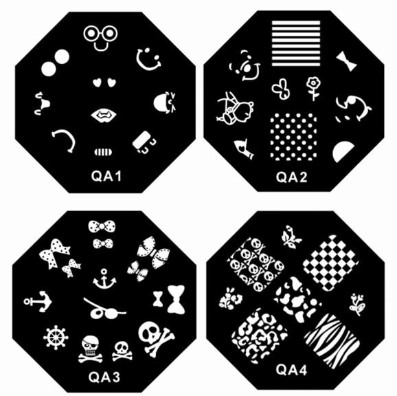 Printable Nail Art Templates Lovely 1 30 Series Diy Nail Art Plates Nail Polish Print 60