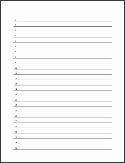 Printable Notebook Paper Wide Ruled Best Of 6 Wide Ruled Notebook Paper Template Sampletemplatess