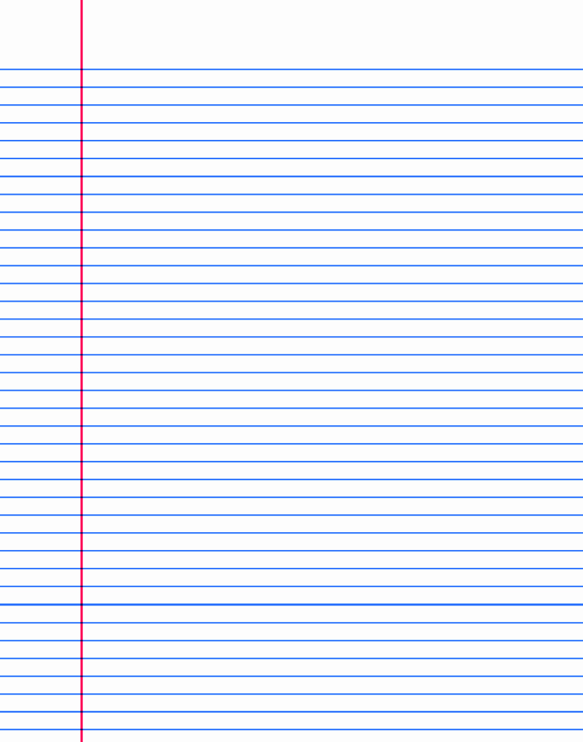 Printable Notebook Paper Wide Ruled Best Of Printable Notebook Paper College & Wide Ruled
