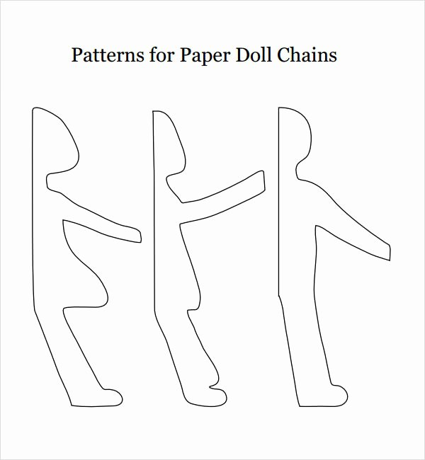 Printable Paper Doll Templates Best Of Paper Doll Sample 7 Documents In Pdf Word Eps