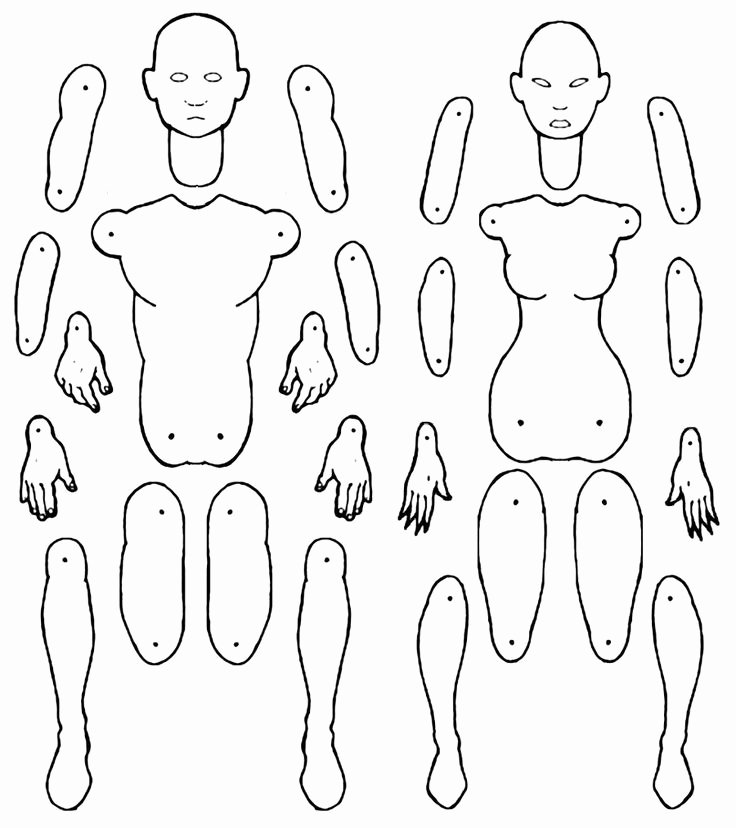 Printable Paper Doll Templates Unique 1000 Images About Stuff for My Costume Class Students On