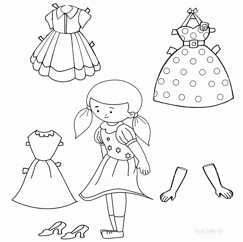 Printable Paper Dolls Template Beautiful Free Printable Paper Doll Templates
