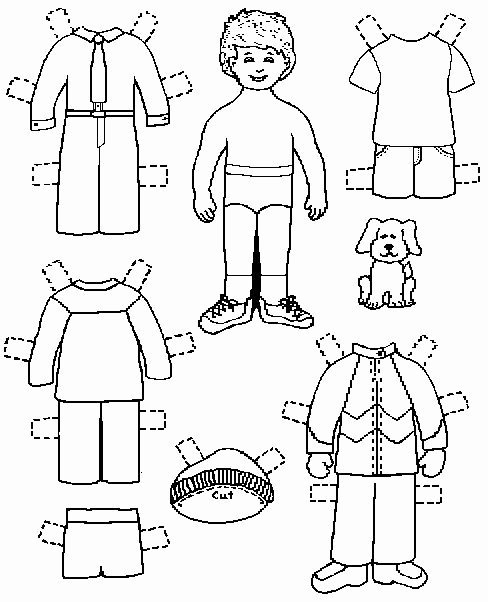 Printable Paper Dolls Template Inspirational Paper Dolls Coloring Pages