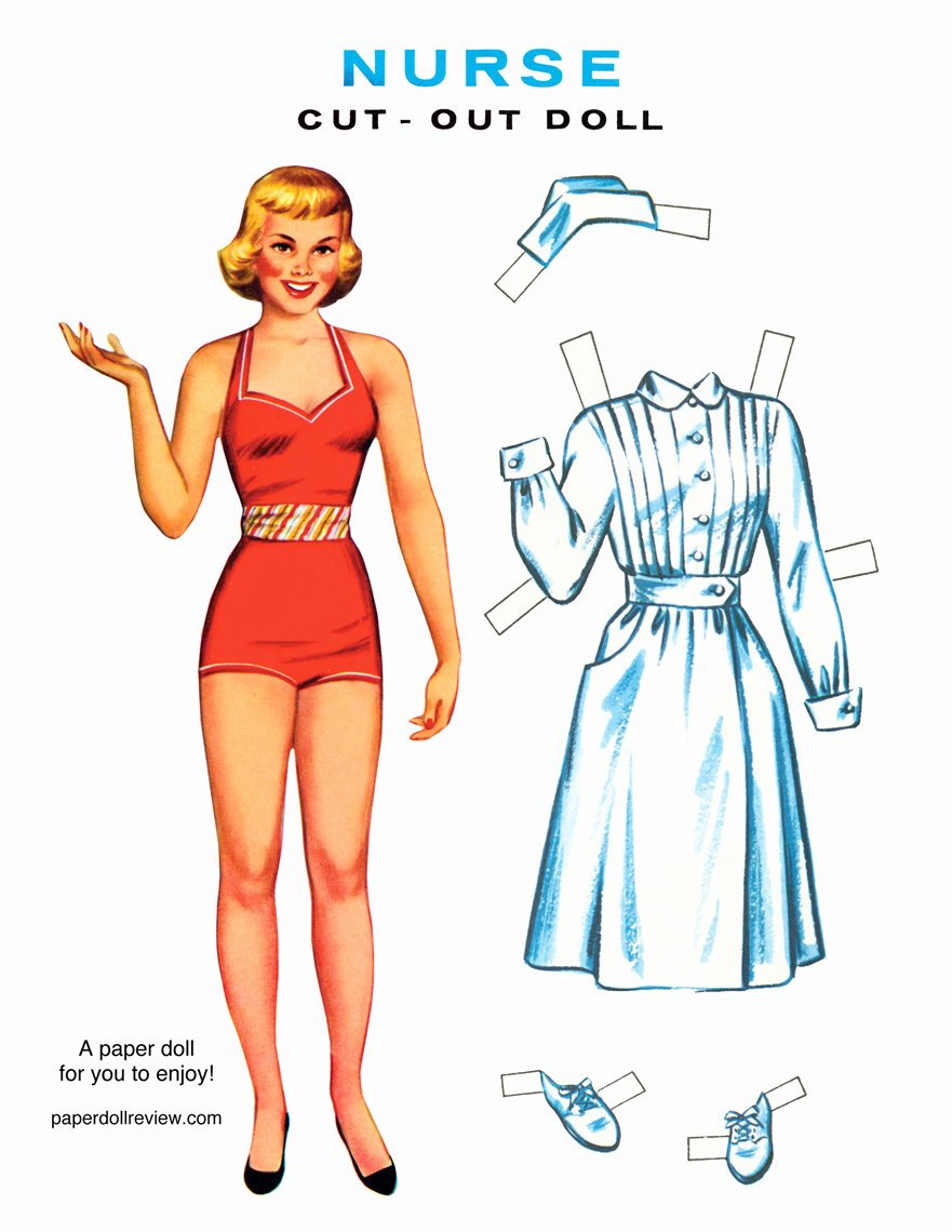 Printable Paper Dolls Template Lovely Paper Dolls Will I Ever Grow Up Zephyr Hill