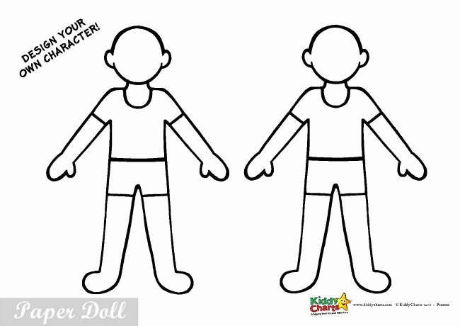 Printable Paper Dolls Template Luxury Policeman Paper Doll Cut Out and Colour Kids Activity