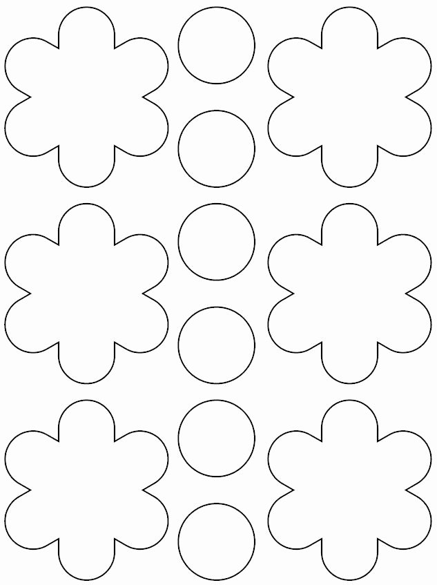 Printable Paper Flower Templates Fresh Best 25 Printable Flower Ideas On Pinterest