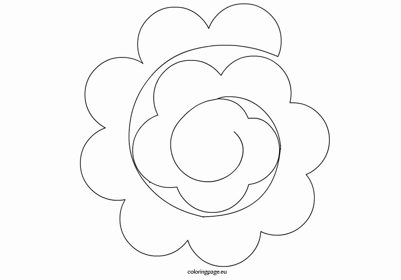 Printable Paper Flower Templates Fresh Paper Flower Templates