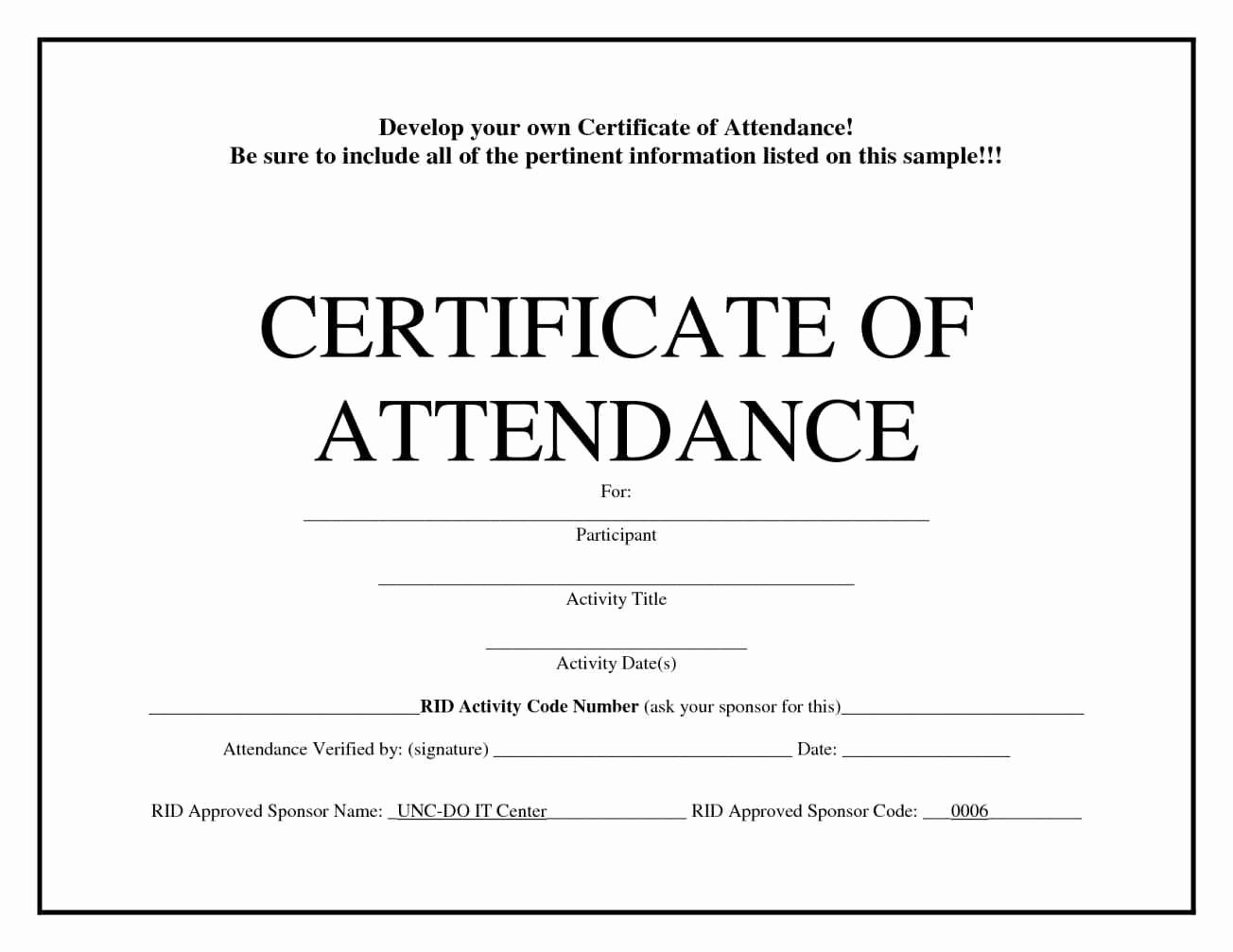 Printable Perfect attendance Award Elegant Free Printable attendance Certificates Template