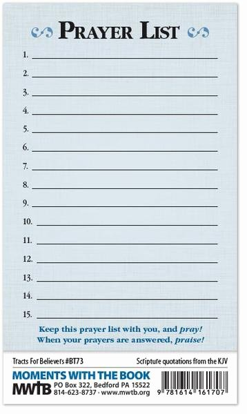 Printable Prayer List Template Elegant What the Bible Says About Prayer Prayer List – Moments