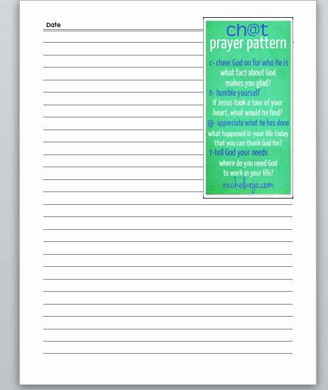 Printable Prayer List Template Inspirational Prayer Journal Printables