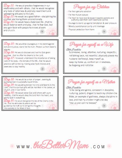Printable Prayer List Template New organize Your Prayer Time Free Printable Prayer Cards