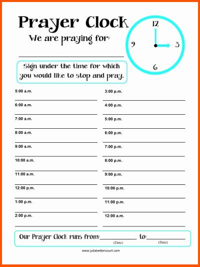 Printable Prayer List Template Unique 5 Prayer List Template