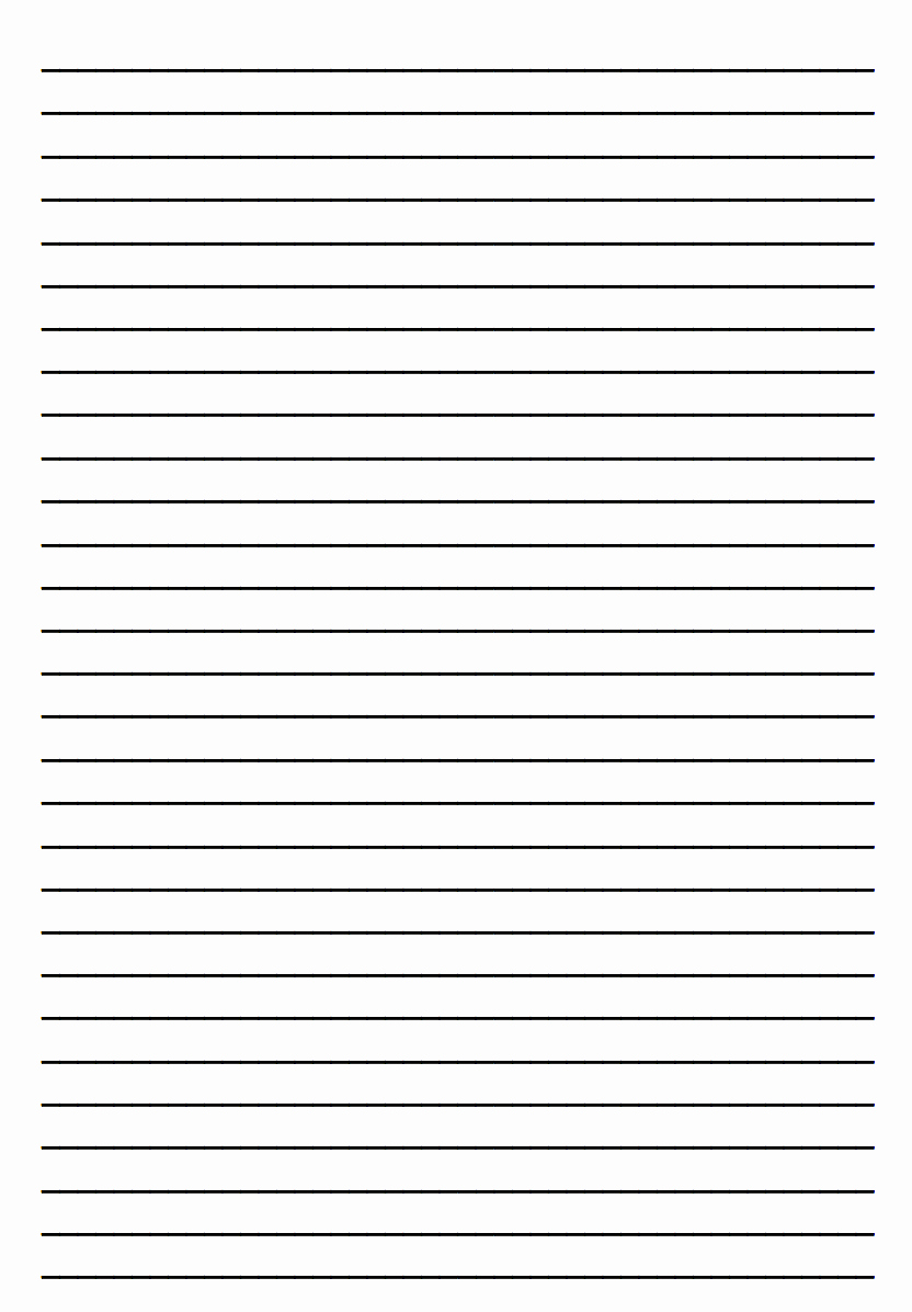 Printable Preschool Writing Paper Fresh Printable Lined Writing Paper for Kindergarten