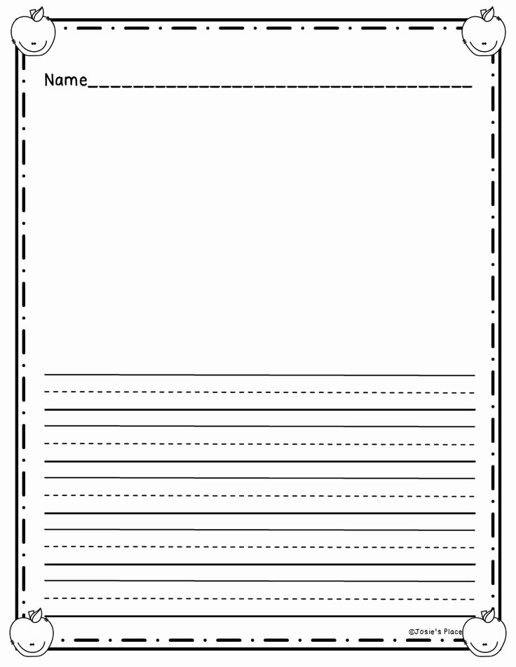 Printable Preschool Writing Paper Luxury 190 Best Blank Writing Templates Images On Pinterest