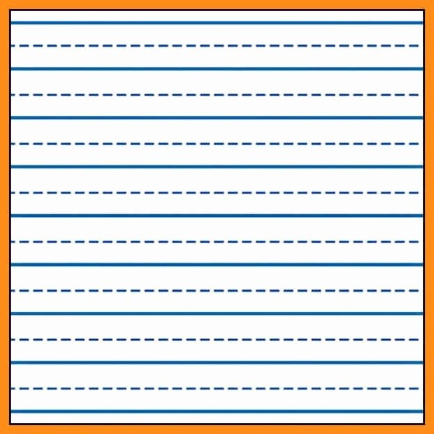 Printable Preschool Writing Paper New Printable Lined Writing Paper for Kindergarten