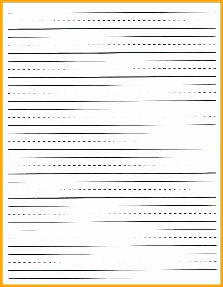 Printable Preschool Writing Paper Unique Free Printable Writing Paper Picture – Printable Pumpkin