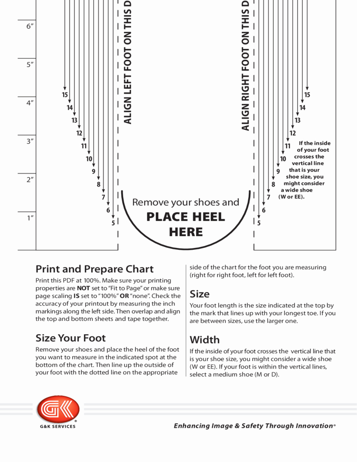 Printable Shoe Size Chart Width Beautiful Men S Shoe Sizing Chart Free Download