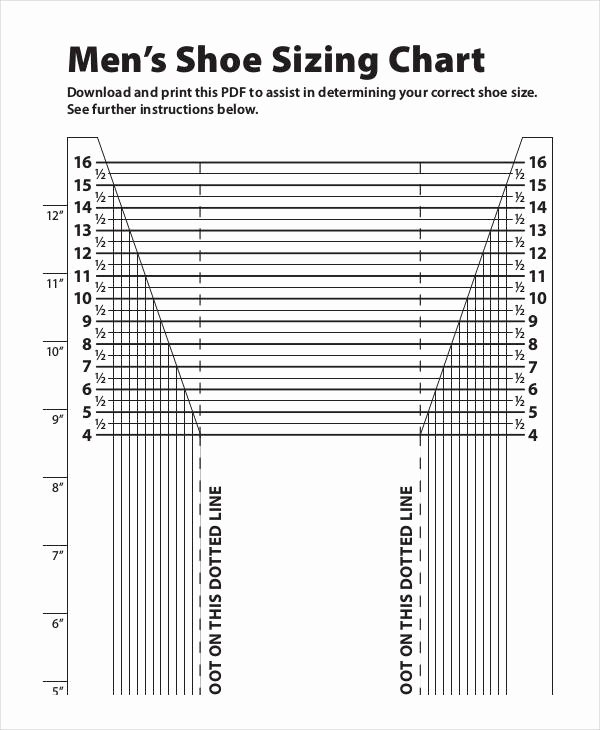 Printable Shoe Size Chart Width Lovely Buy Yeezy Trainers Size Guide Off