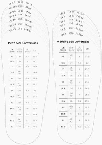 Printable Shoe Size Chart Width Unique 40 Mesmerizing Printable Shoe Size Chart Mens
