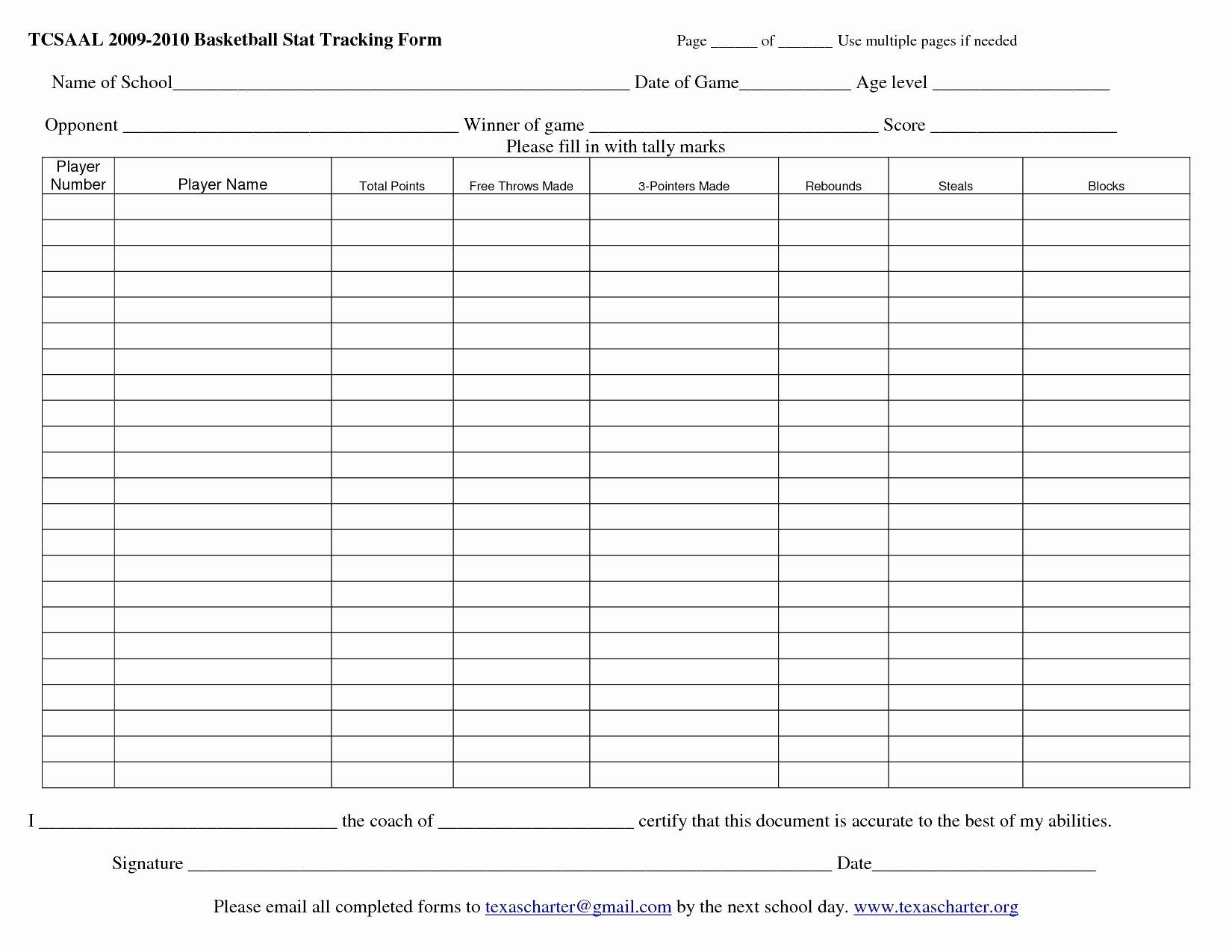 Printable soccer Stat Sheet Unique Football Statistics Excel Spreadsheet Printable Spreadshee