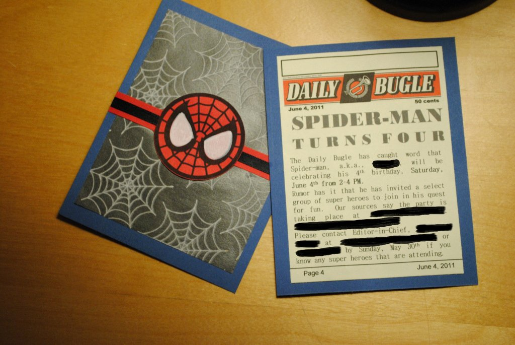 Printable Spiderman Birthday Card Awesome Make Your Own Spider Man Birthday Invitations