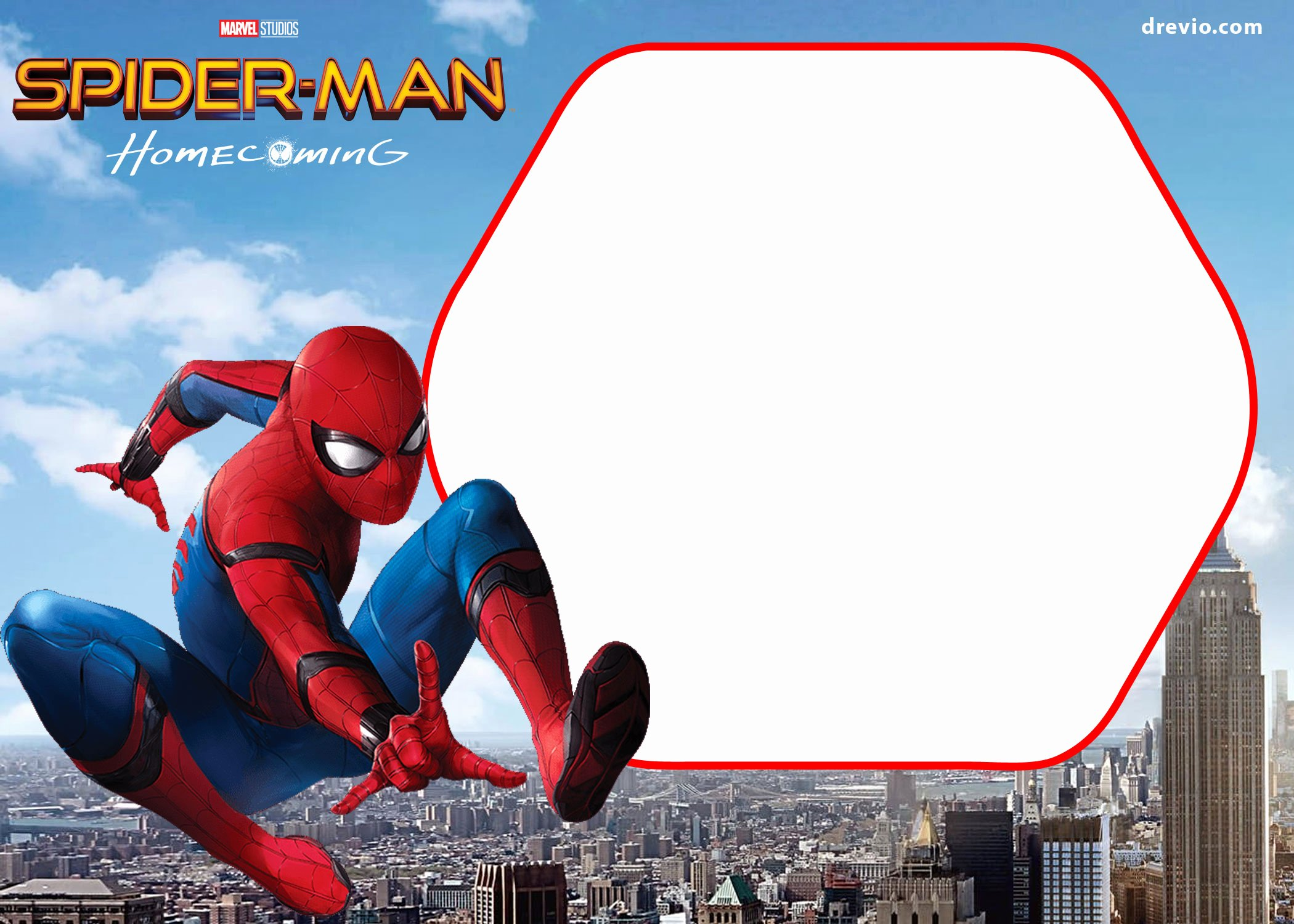Printable Spiderman Birthday Card Inspirational Free Spiderman Home Ing Invitation Template
