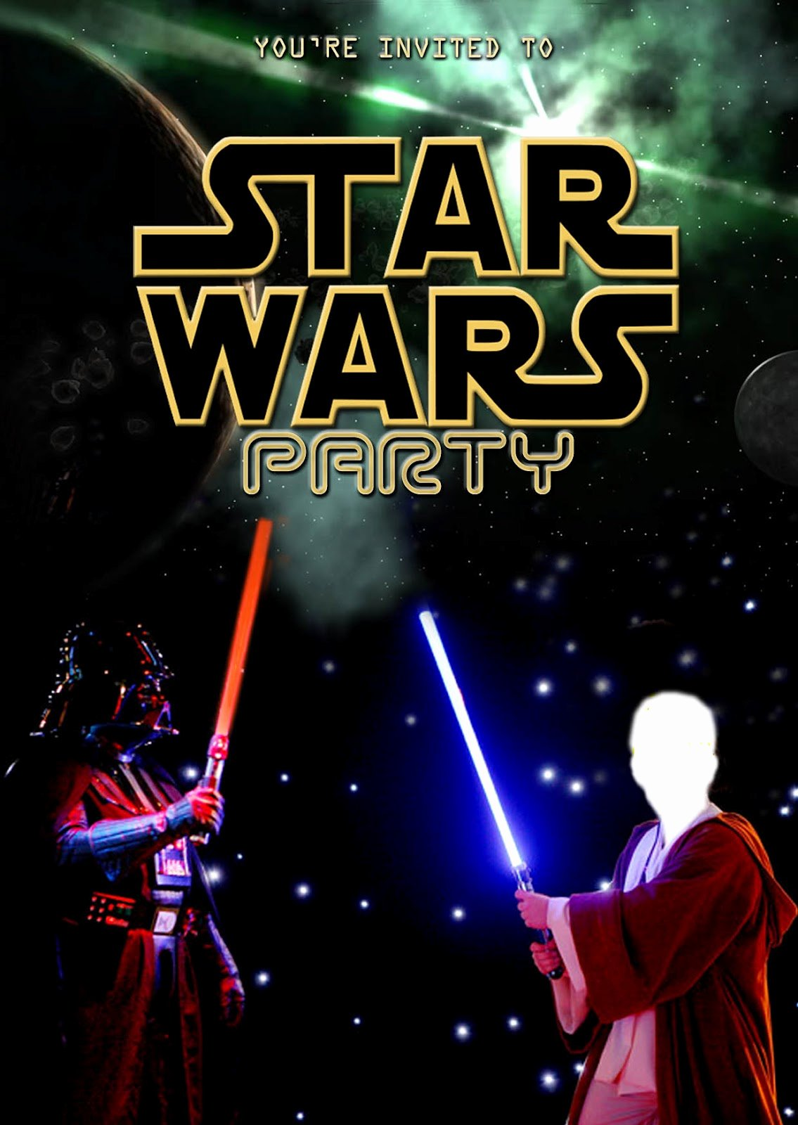 Printable Star Wars Invitation Inspirational Free Kids Party Invitations Star Wars Party Invitation