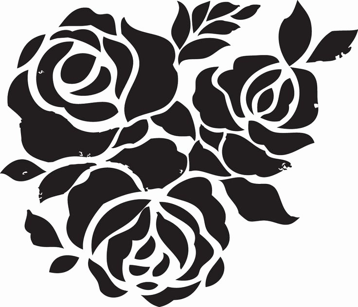 Printable Stencils for Painting Best Of Best 20 Flower Stencils Ideas On Pinterest