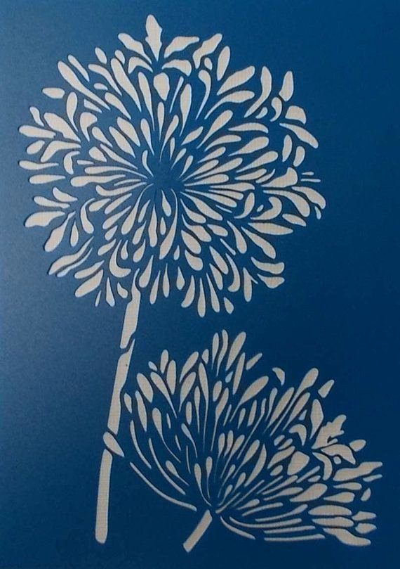 Printable Stencils for Painting Lovely Best 20 Flower Stencils Ideas On Pinterest
