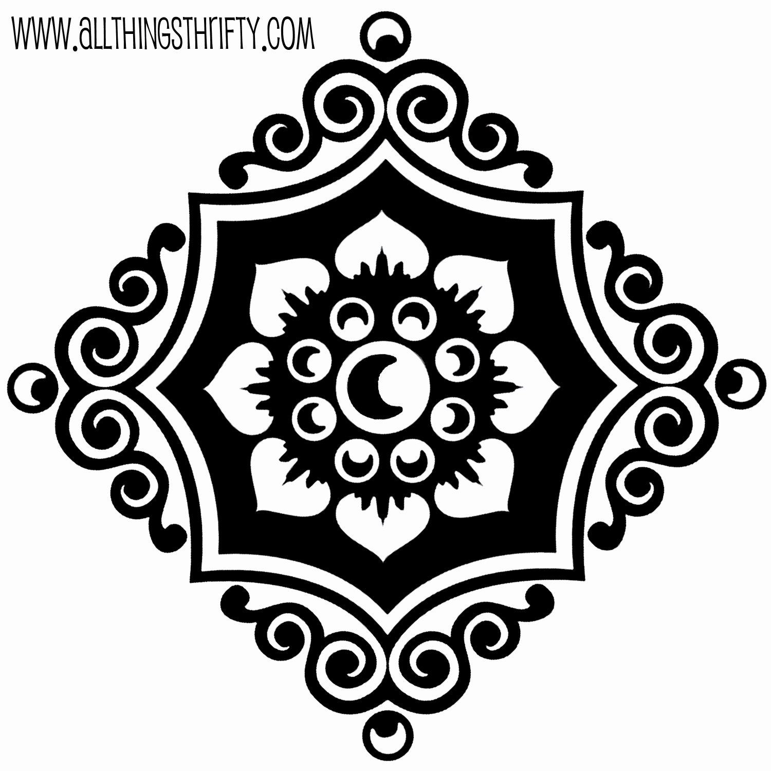 Printable Stencils for Painting Lovely Stencil Patterns Just for You