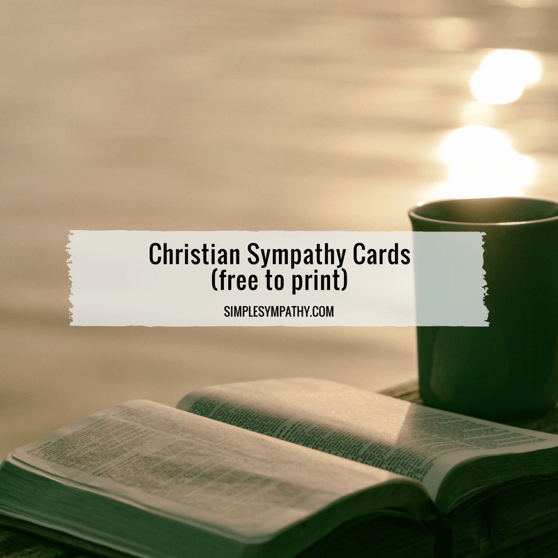 Printable Sympathy Card Free Beautiful Christian Sympathy Cards – Simple Sympathy
