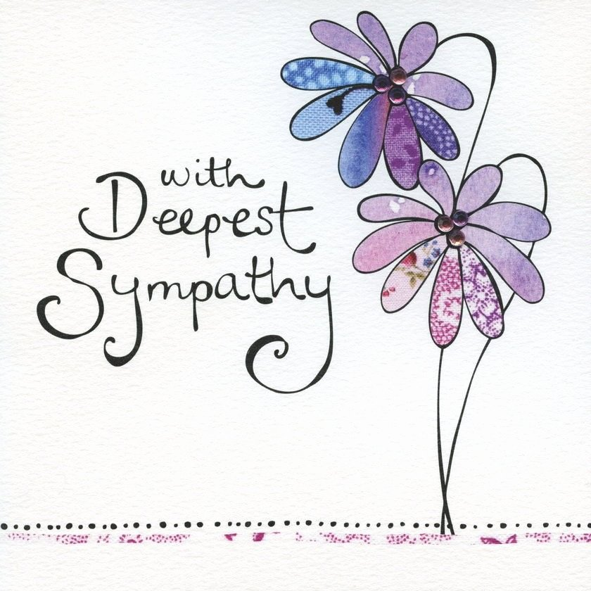Printable Sympathy Card Free Elegant 60 Heartfelt Sympathy and