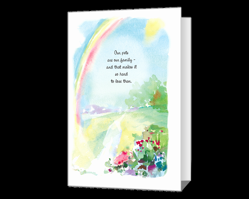 Printable Sympathy Card Free Fresh Your Sweet Pet Printable American Greetings