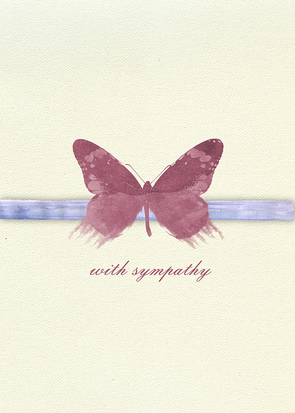 Printable Sympathy Card Free Lovely Digital Sympathy Card On Behance