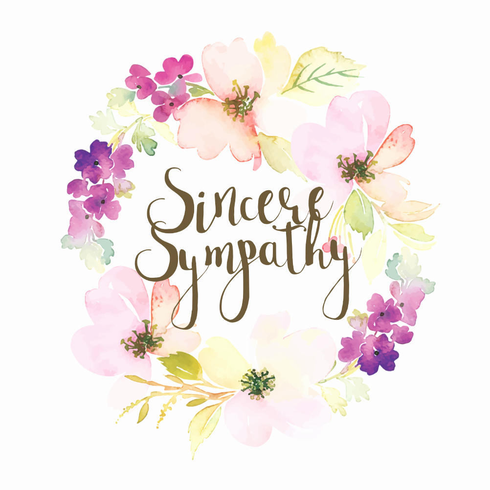 Printable Sympathy Card Free Luxury Loved and Missed Sympathy & Condolences Card Free
