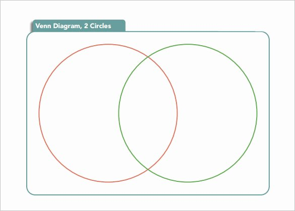 Printable Venn Diagram with Lines Beautiful 20 Venn Diagram Templates – Sample Example format