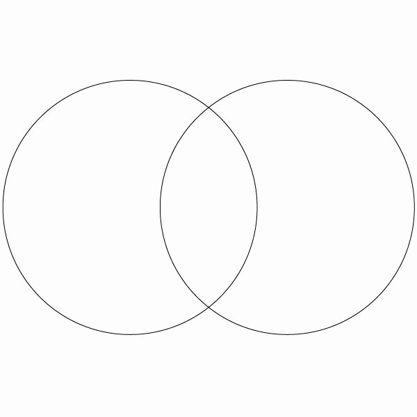 venn diagram printable