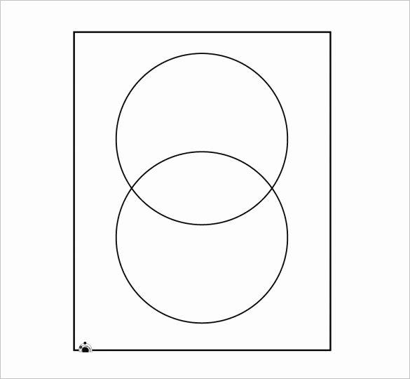 Printable Venn Diagram with Lines Unique 7 Blank Venn Diagram Templates Free Sample Example