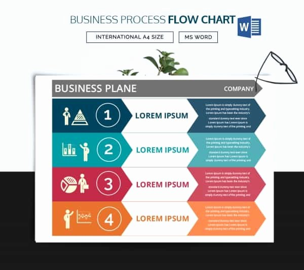 Process Flow Charts In Word Elegant 44 Flow Chart Templates Free Sample Example format