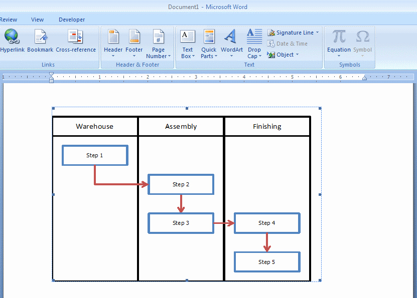 Process Flow Charts In Word Lovely How to Embed An Excel Flowchart In Microsoft Word