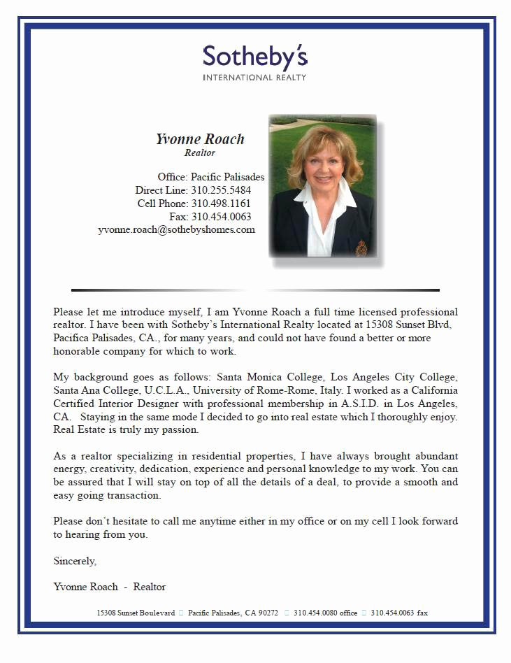 Professional Bio Template Word Best Of Realtor Bios – Real Estate Wordsmith