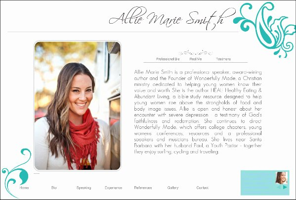 Professional Bio Template Word Unique Professional Bio Template