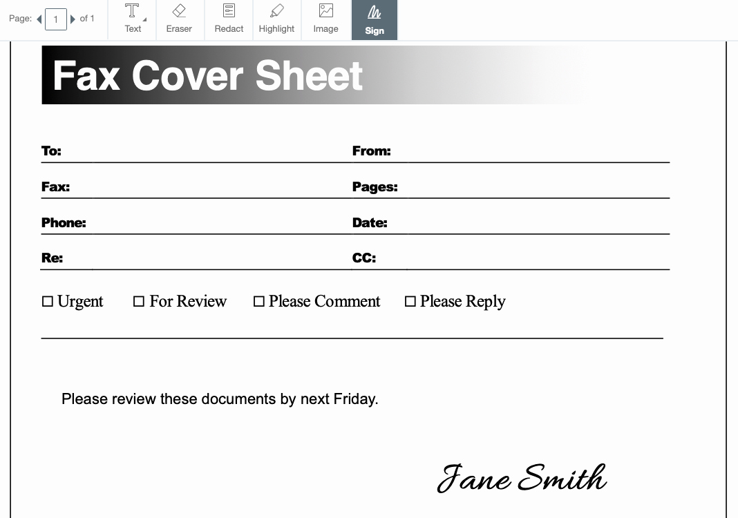 Professional Fax Cover Sheets Luxury Free Fax Cover Sheet Templates – Pdf Docx and Google Docs