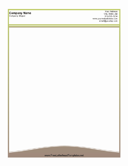 Professional Letterhead Template Free Lovely 25 Free & Premium Business Letterhead Word Templates [ Doc