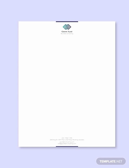 Professional Letterhead Template Free New 30 Professional Letterhead Templates Free Word Psd Ai