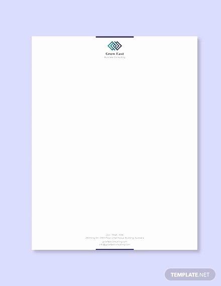Professional Letterhead Template Free New 30 Professional Letterhead Templates Free Word Psd Ai