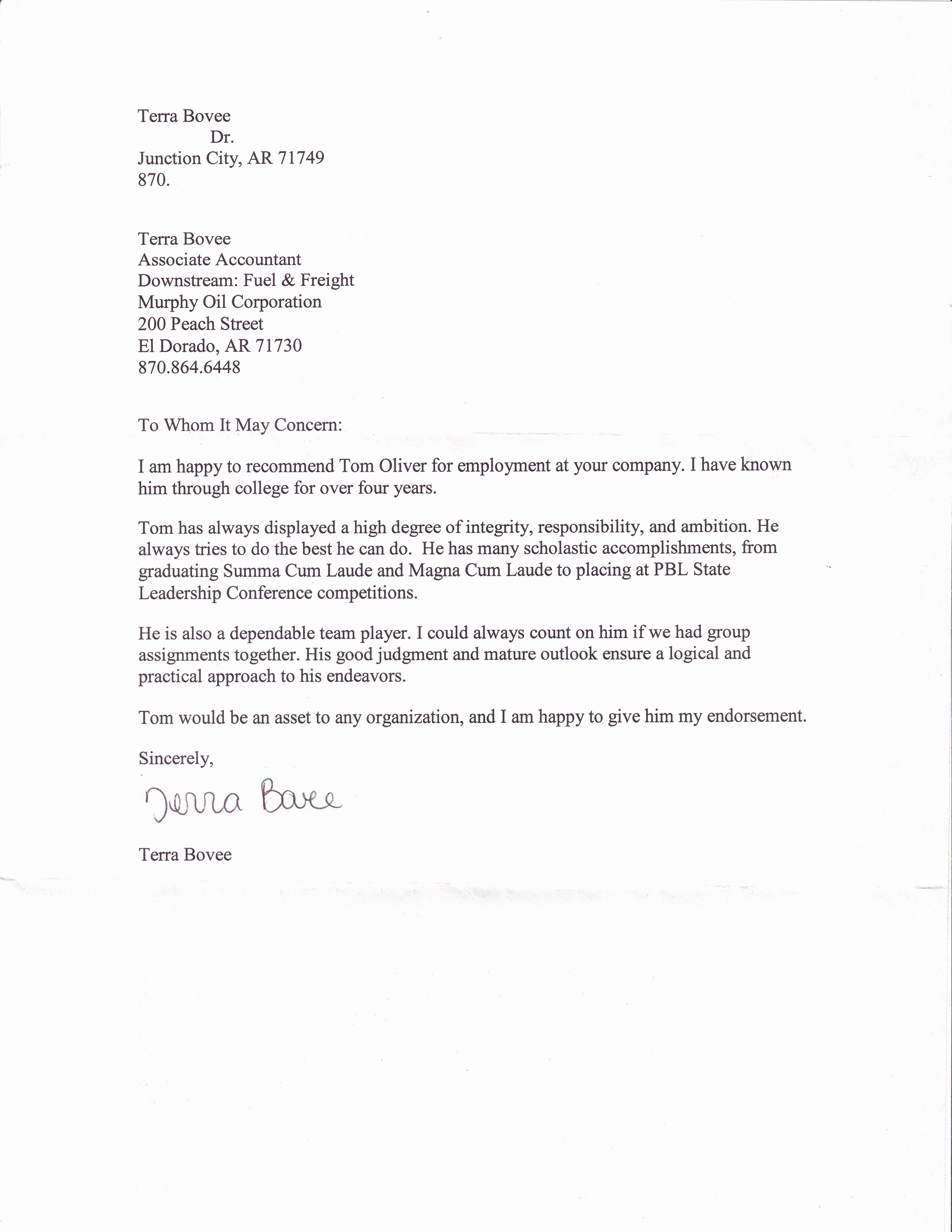 Professional Recommendation Letter Example Beautiful Professional References