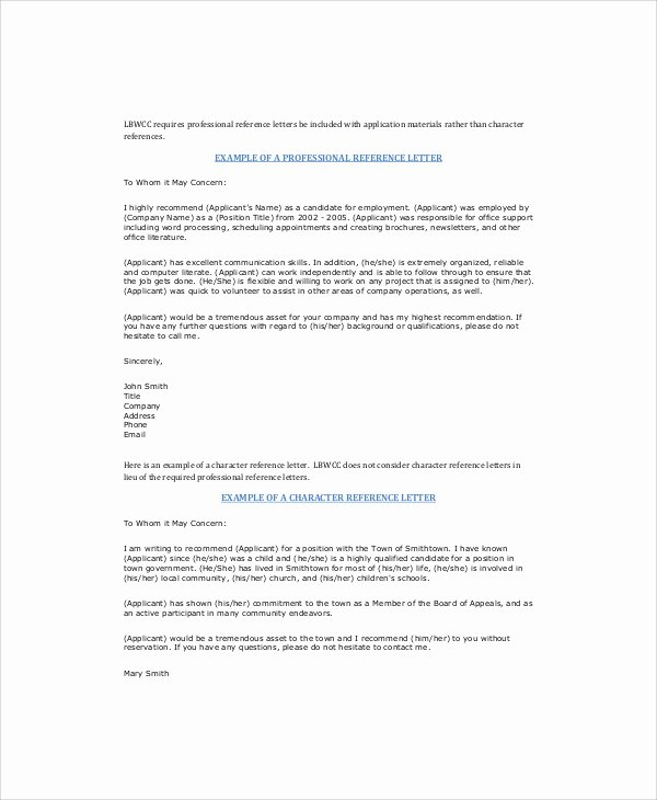 Professional Recommendation Letter Example Unique Sample Re Mendation Letter for Colleague 6 Examples