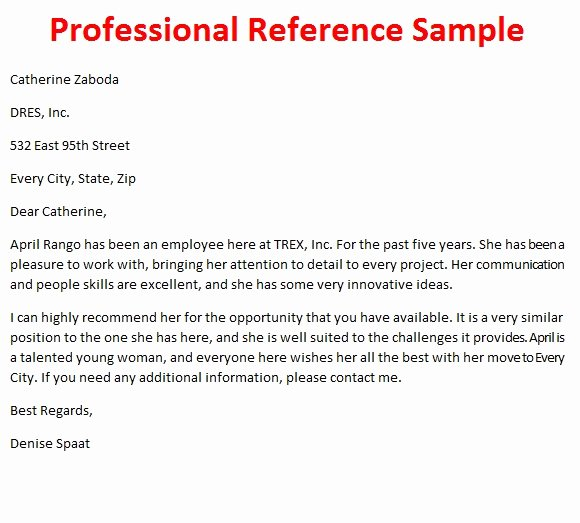 Professional Recommendation Letter Sample Best Of Letters Of Reference October 2012