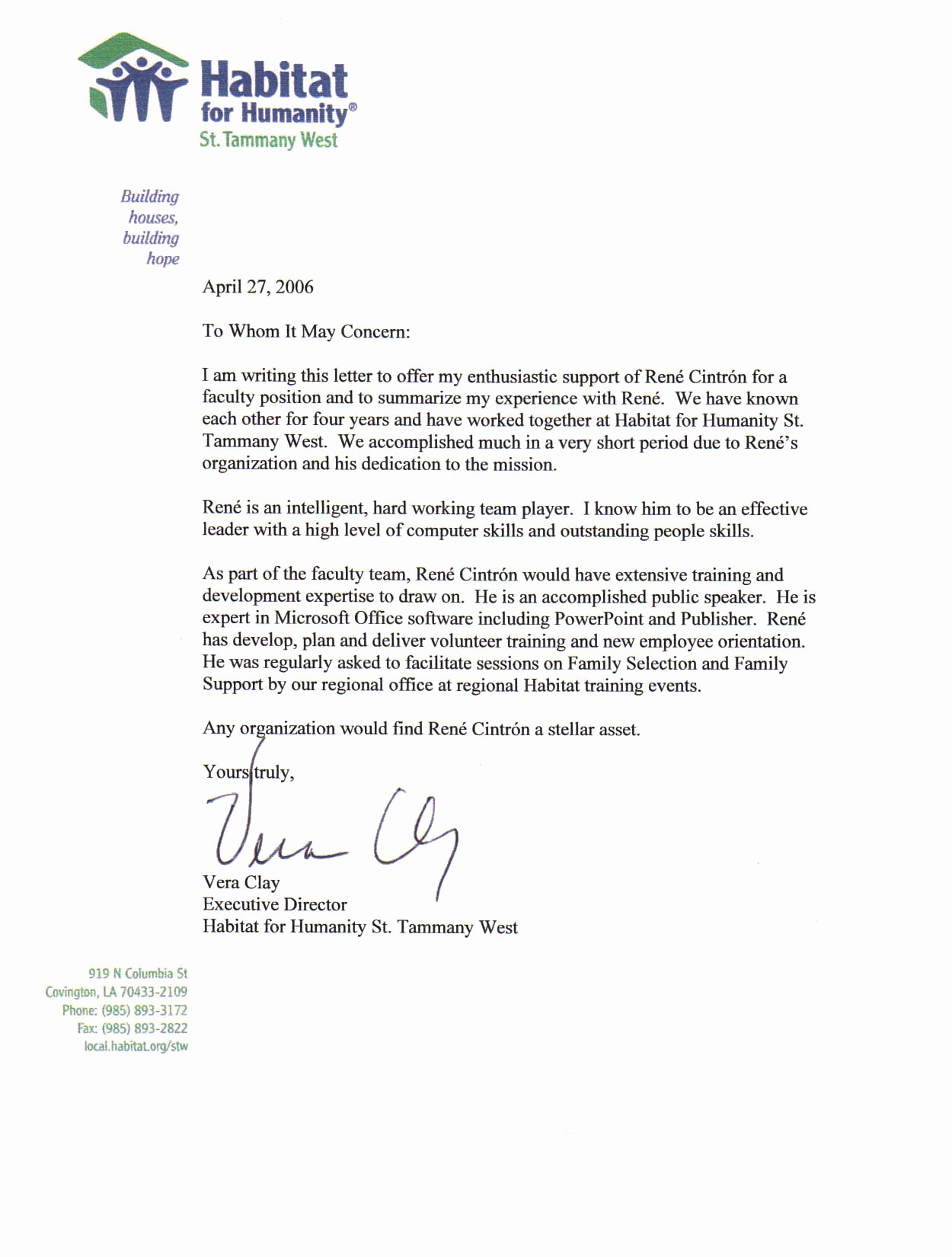 Professional Recommendation Letter Sample Unique 3 Professional References Examples Professional Reference